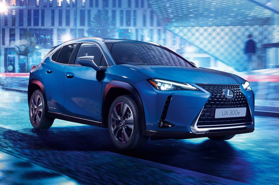 El Lexus UX 300e será el primer eléctrico de la firma y contará con 300 km de autonomía WLTP