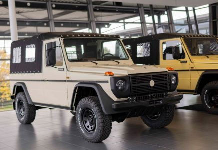 Salen a la venta 37 Mercedes Clase G militares a precios muy dispares