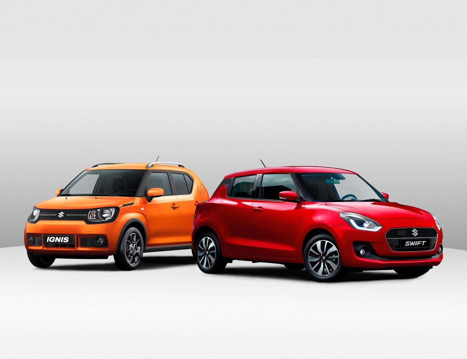 Suzuki Swift e Ignis 1.2L 4x4 Mild Hybrid: Con etiqueta ECO de la DGT