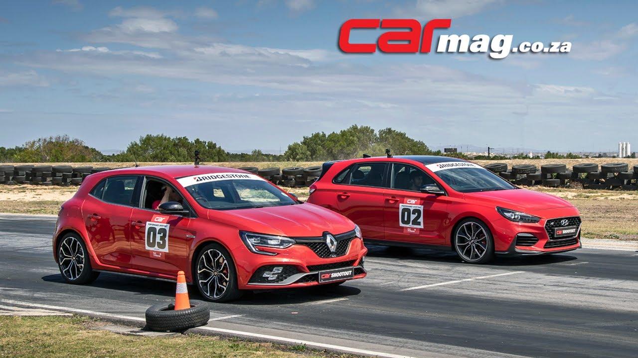 DRAG RACE! Hyundai i30 N vs. Renault Mégane RS280 Cup