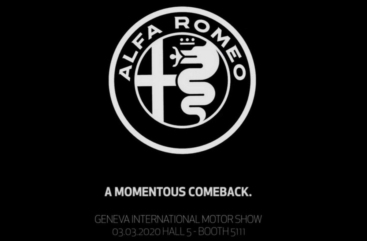 Alfa Romeo llevará algo muy ruidoso a Ginebra... ¿qué será?