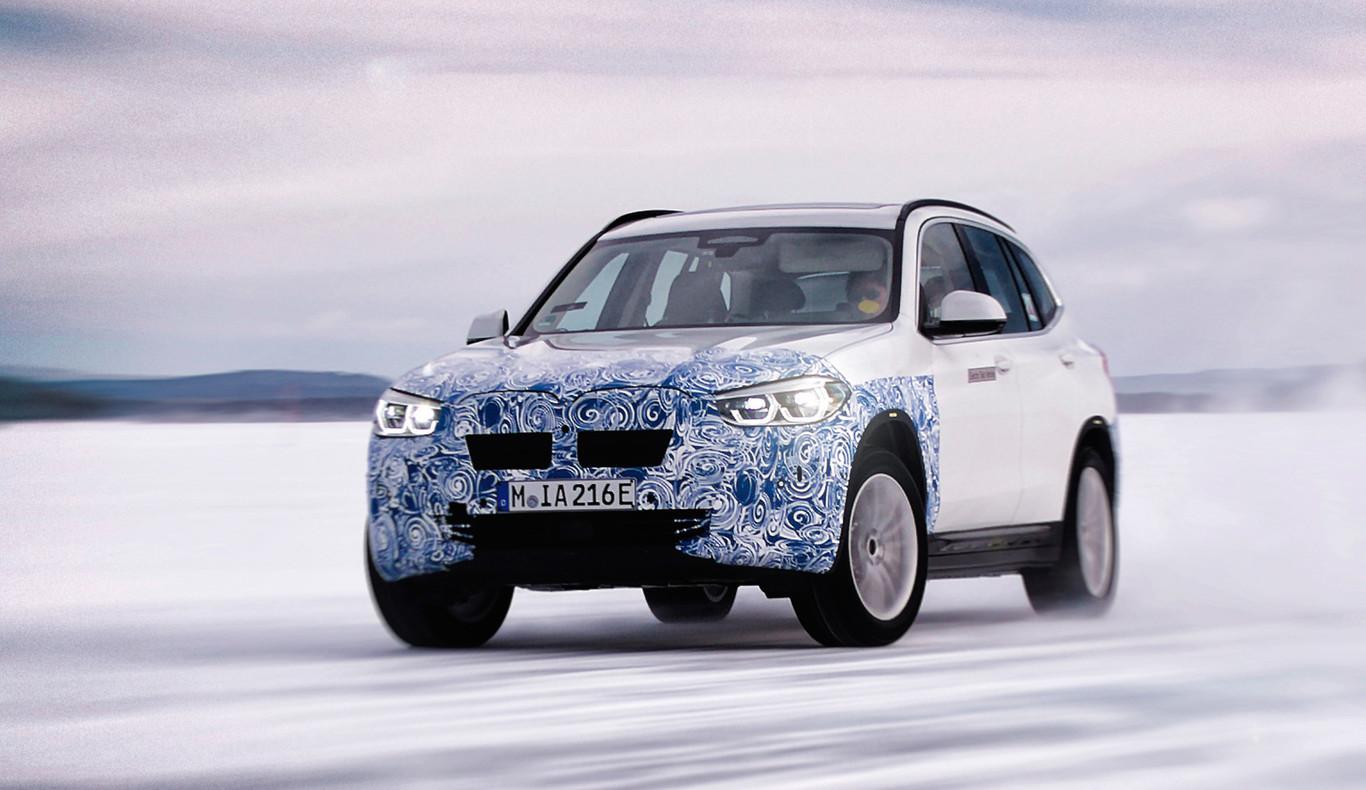 El nuevo BMW iX3 ya calienta motores: últimos detalles