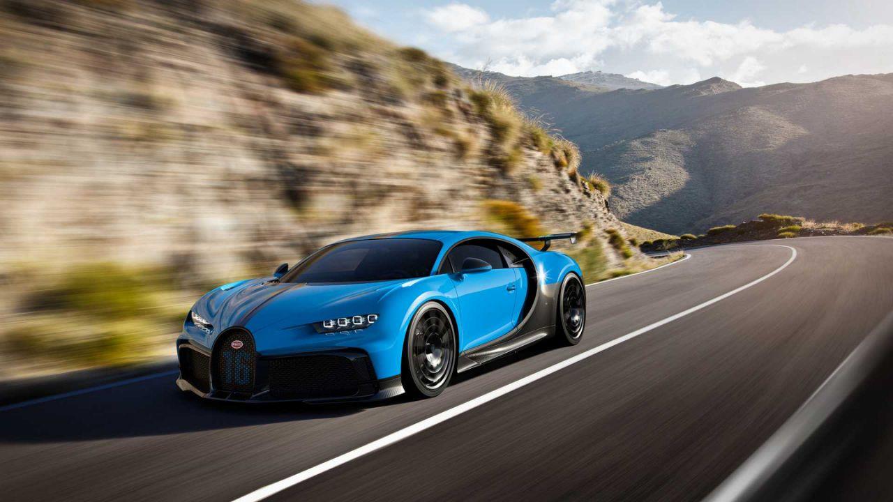 Bugatti Chiron Pur Sport 2020: 60 unidades con mejoras aerodinámicas y suspensión más rígida