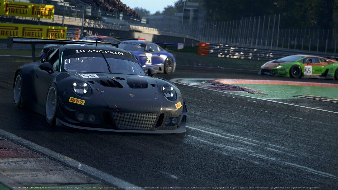 El Assetto Corsa Competizione llegará a la PS4 y Xbox One en Junio