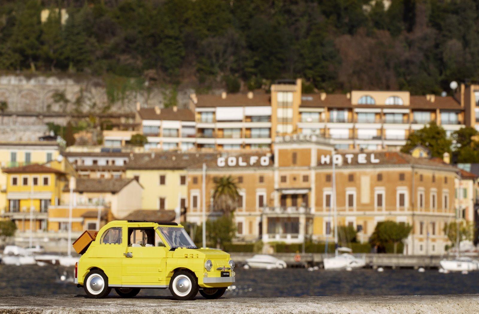 El Fiat 500F de 1960 vuelve de regreso gracias al LEGO Creator Expert