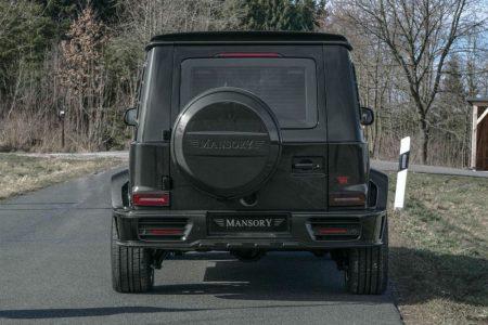 Mansory G63 Armored: 800 CV a prueba de balas