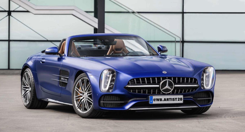 Alguien ha reinterpretado un Mercedes 300SL sobre la plataforma del AMG GT y este es el resultado