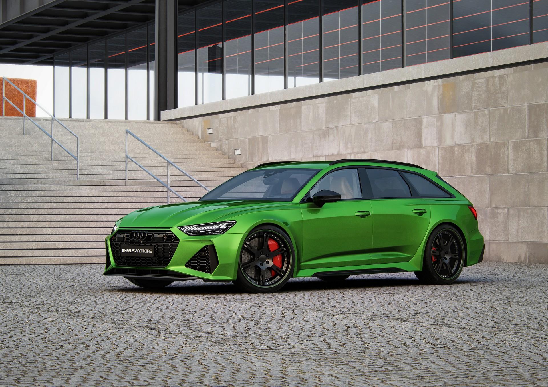 El Audi RS6 Avant de Wheelsandmore es más potente que el ...