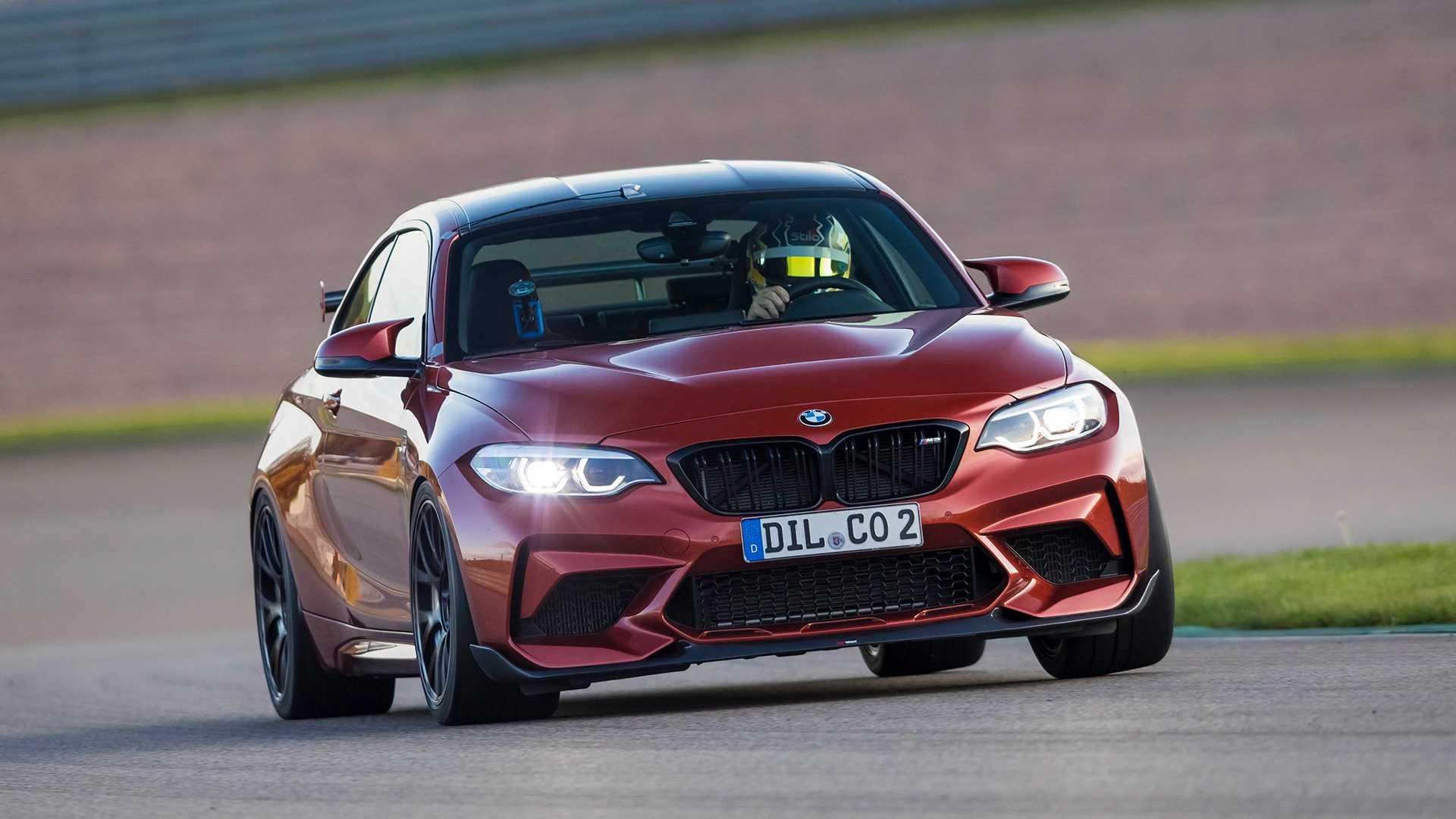 El BMW M2 Competition de Lightweight es más rápido que el M2 CS