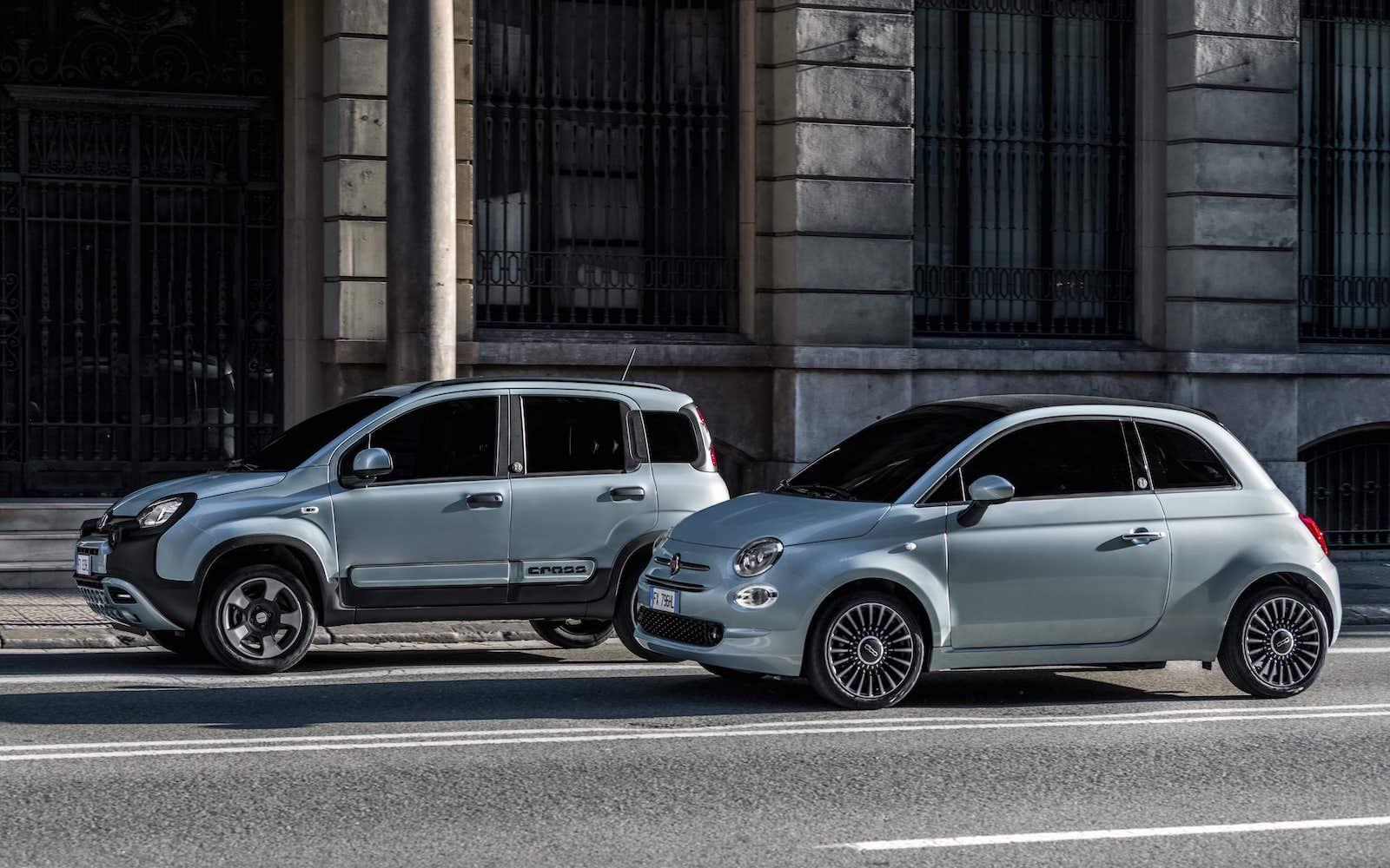 El paquete de desinfección de interior llega a los Fiat 500 y Panda Hybrid