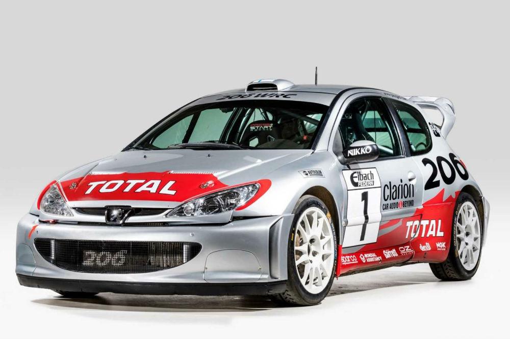 El Peugeot 206 WRC de Marcus Grönholm ahora puede ser tuyo