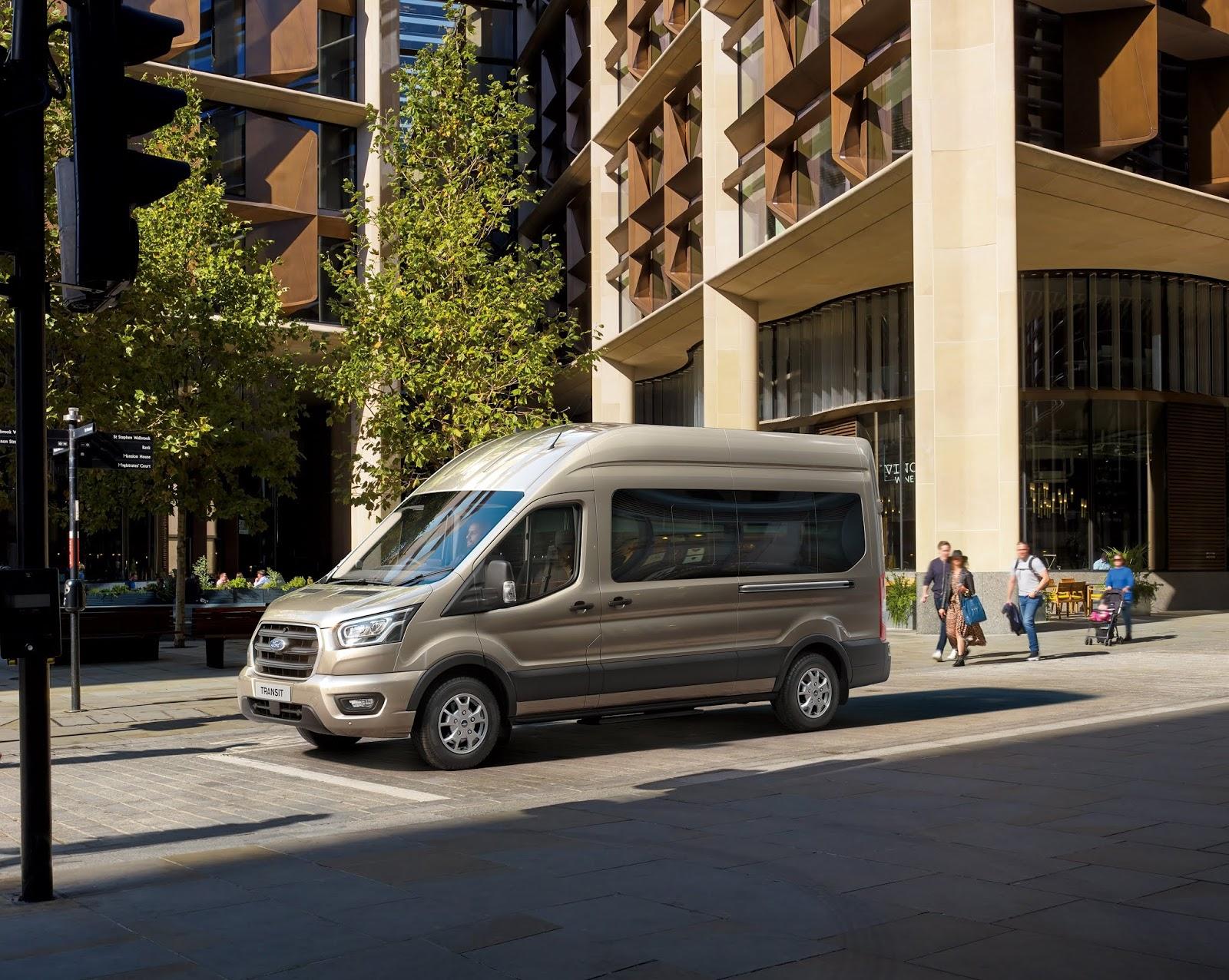 La Ford Transit recibe la caja de cambios automática de 10 velocidades