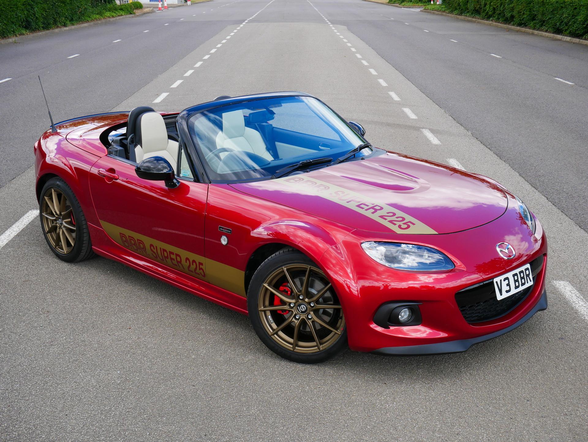 ¡Larga vida al Mazda MX-5 NC! Ahora con 225 CV gracias a BBR