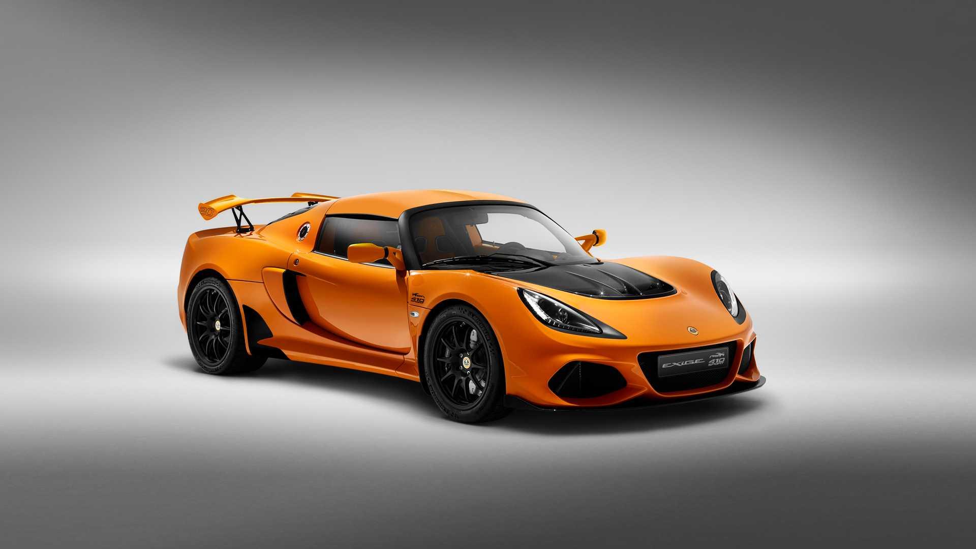 Lotus Exige Sport 410 20th Anniversary: Celebrando el aniversario del modelo