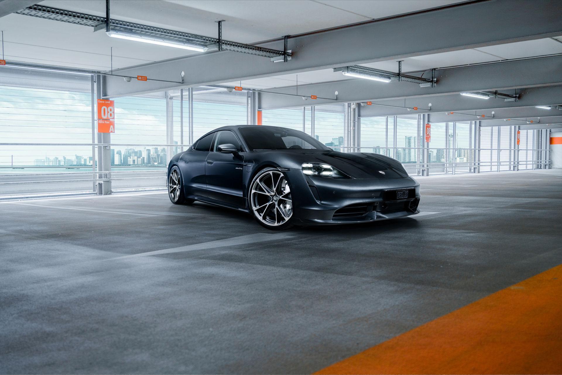 TechArt hace el primer acercamiento al Porsche Taycan