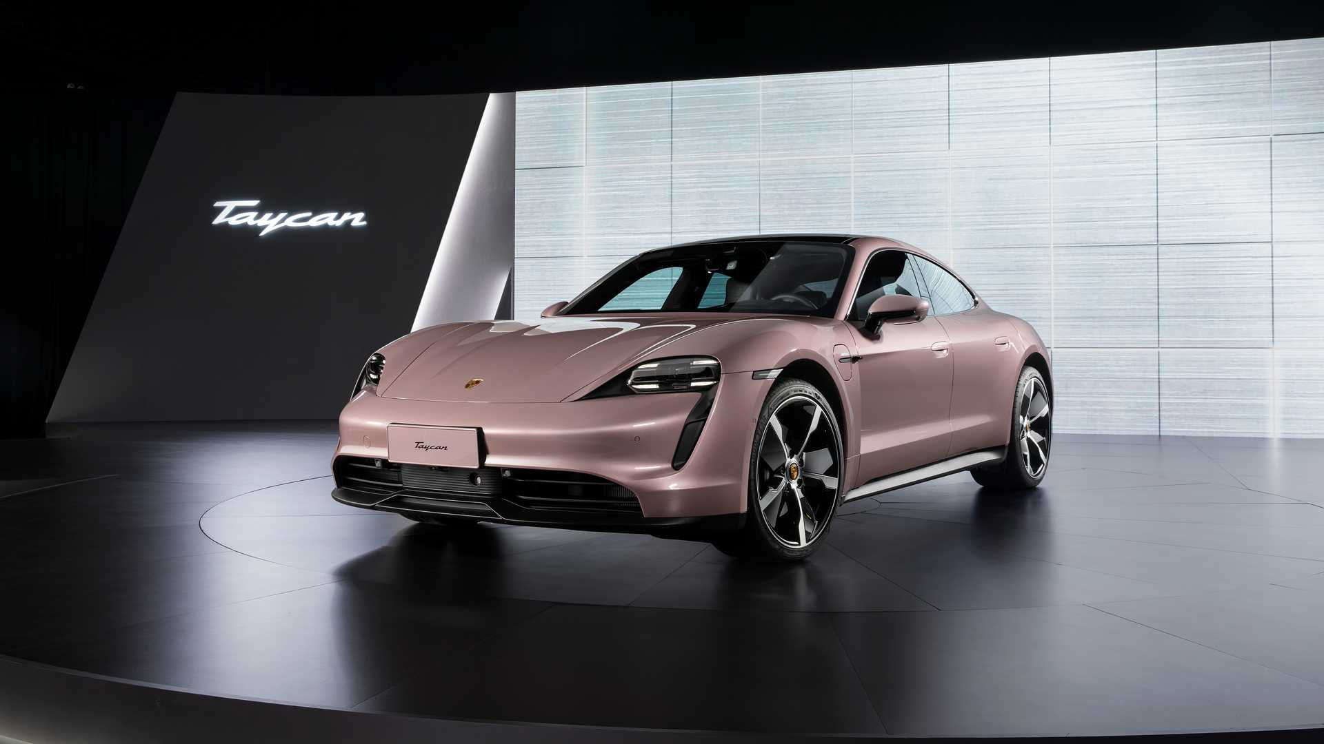 El Porsche Taycan básico llega a China: 408 CV y propulsión