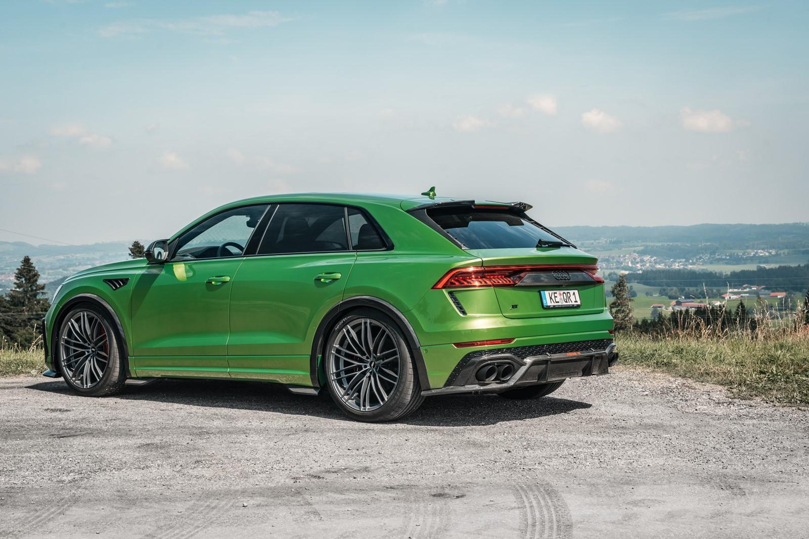 Abt Rsq8 R 740 Cv Para El Audi Rs Q8