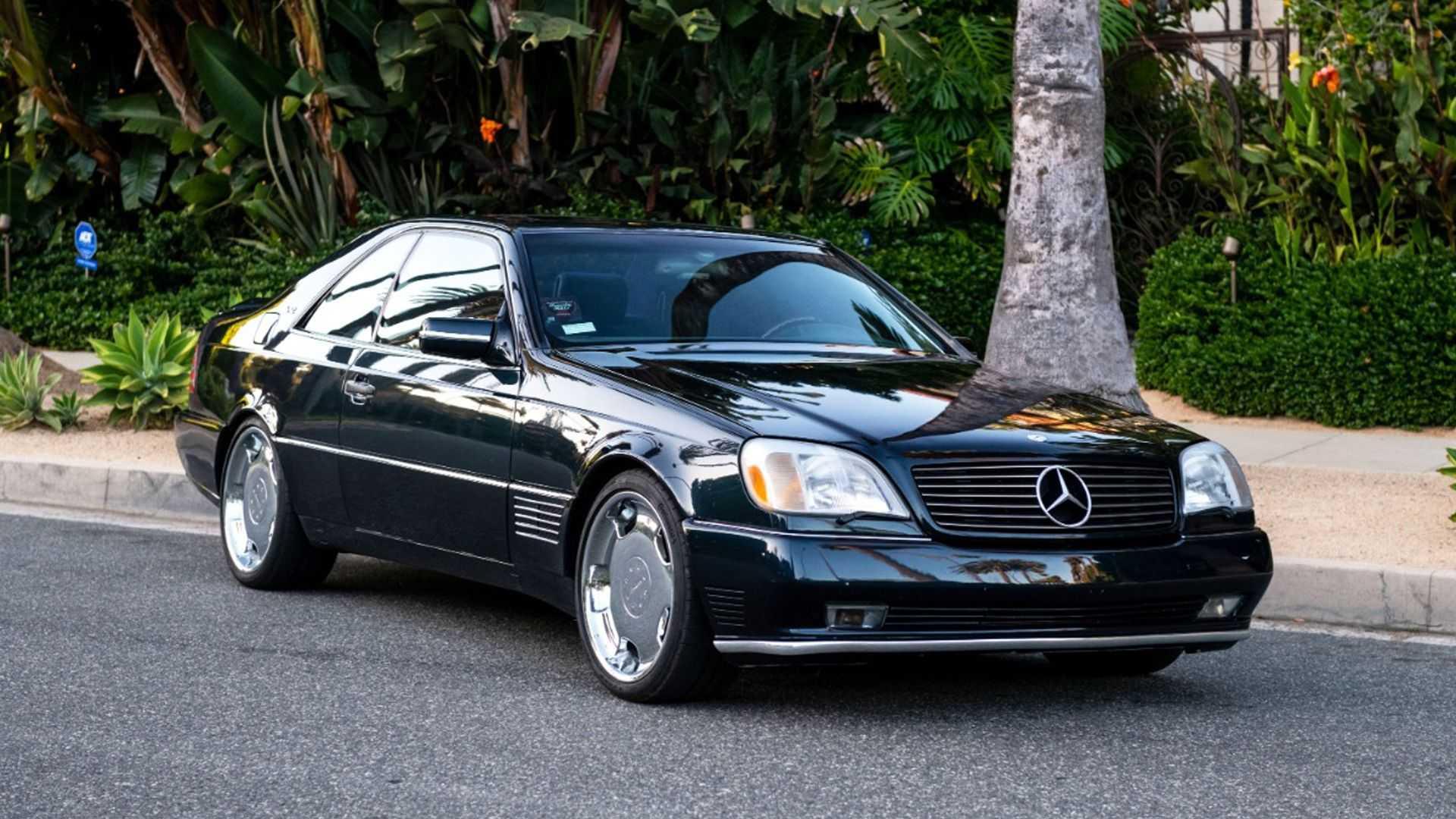 ¿Cuánto pagarías por el Mercedes S600 V12 Coupé que perteneció a Michael Jordan?