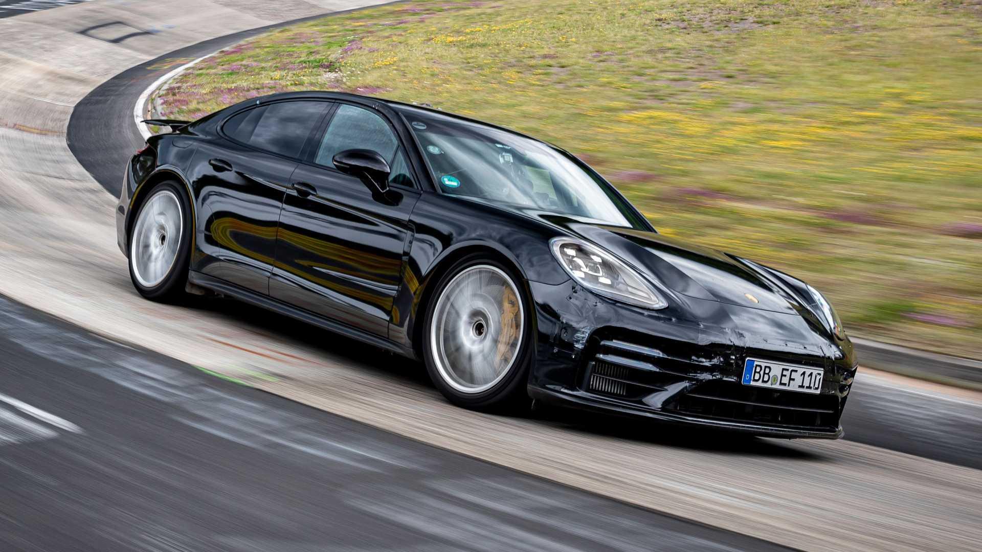 El Porsche Panamera bate récord en Nürburgring: Ahora es la berlina más rápida allí
