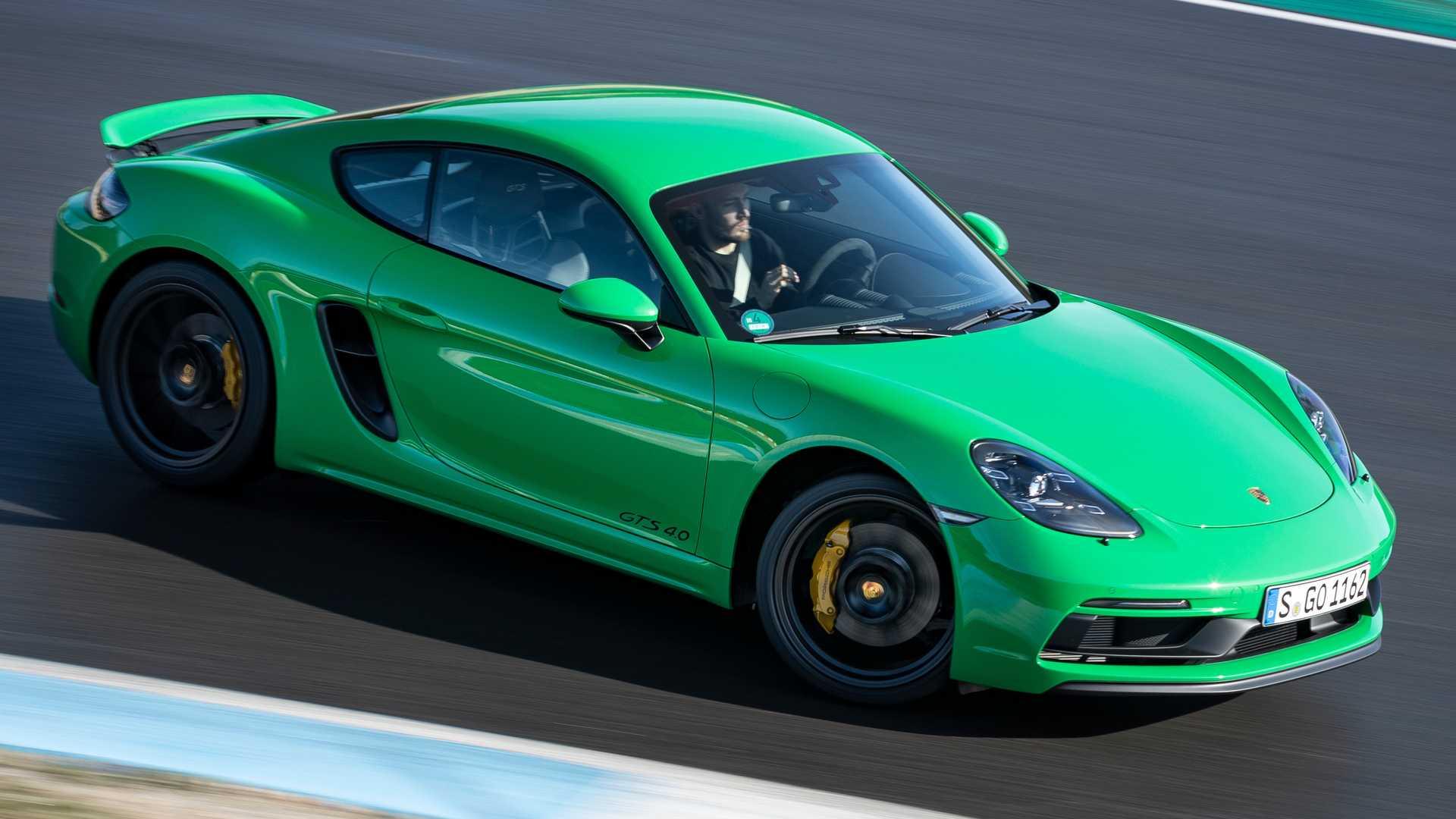 El cambio PDK llega al Porsche Cayman GT4, Spyder y GTS 4.0
