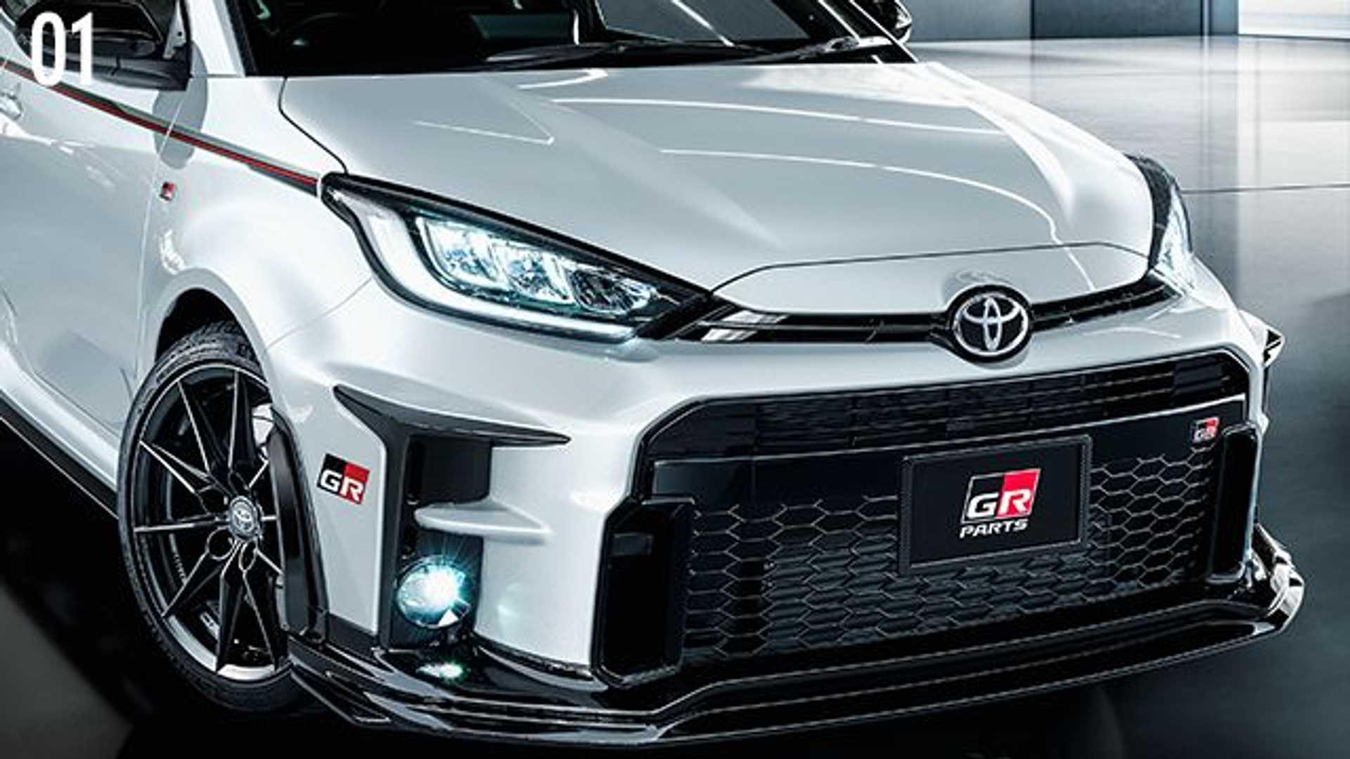 El Toyota GR Yaris recibe mejoras de Gazoo Racing: ¡Todavía más deportivo!