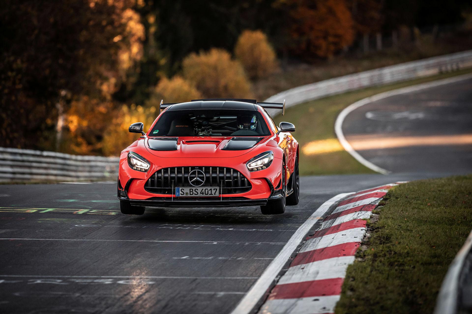 El Mercedes-AMG GT Black Series es el nuevo rey de Nürburgring con un tiempazo de 6:43.616