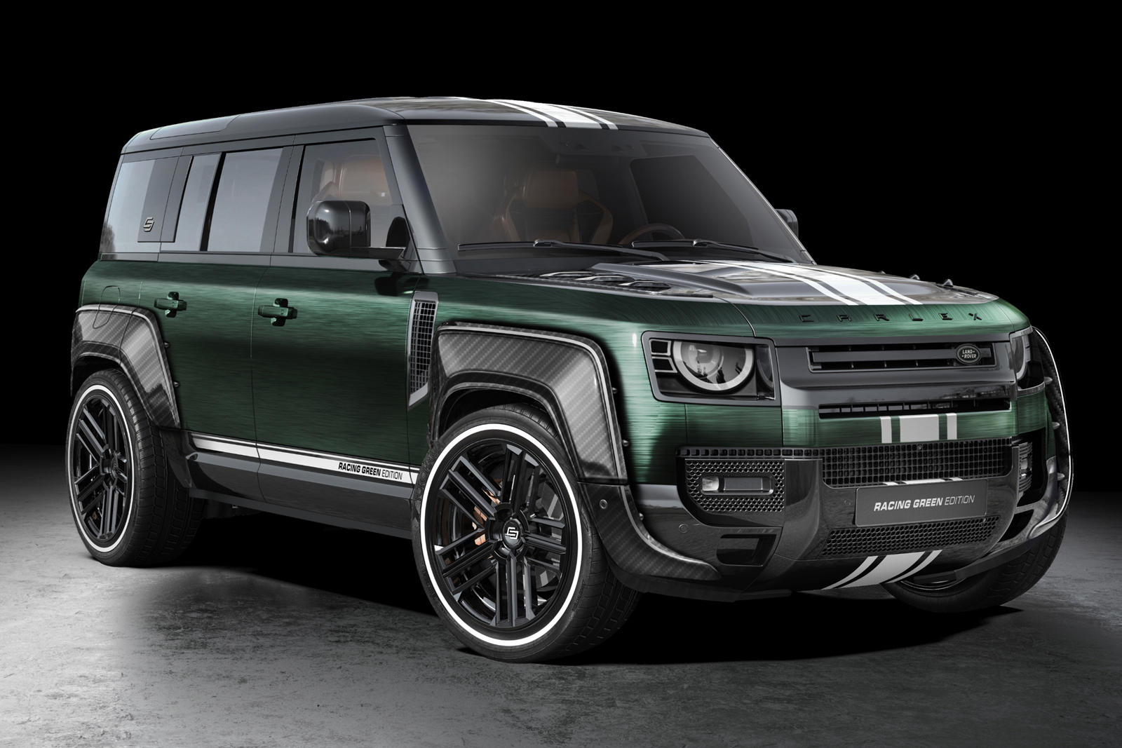 Carlex Design Land Rover Defender Racing Green Edition: Una agresiva preparación con aroma británico
