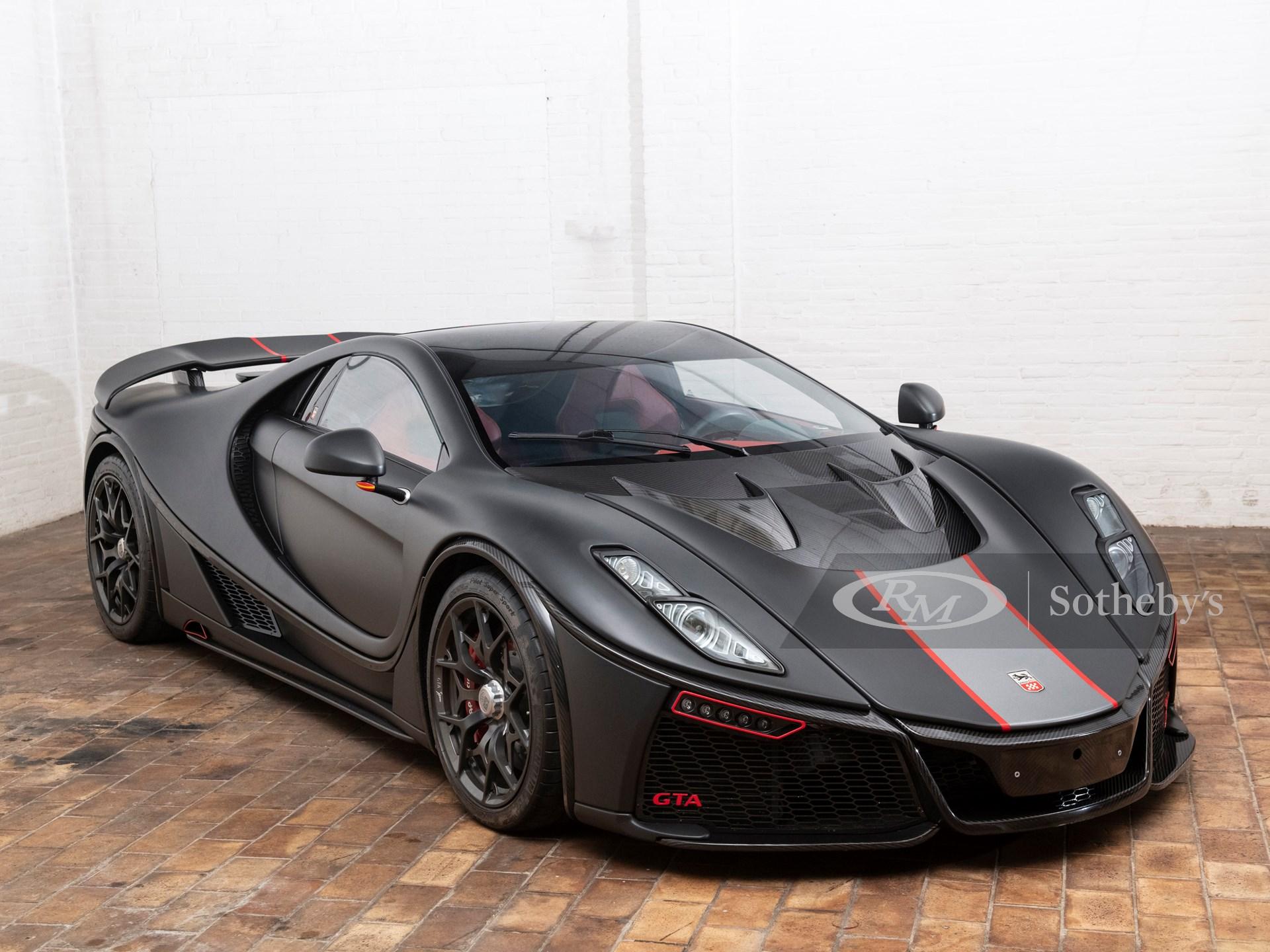El único GTA Spano de segunda generación a subasta