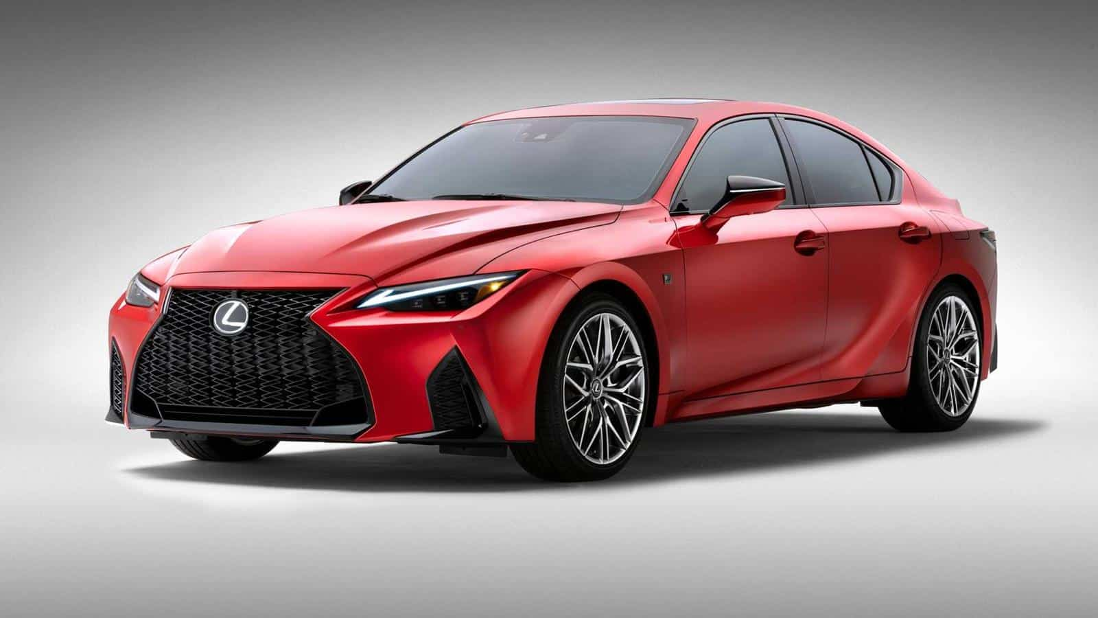 Lexus IS 500 F Sport Performance: V8, atmosférico y 478 CV