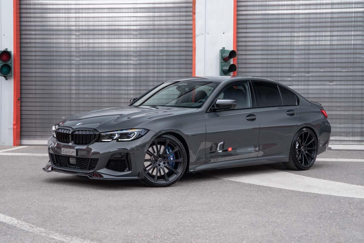 Dähler catapulta al BMW M340i hasta los 456 CV