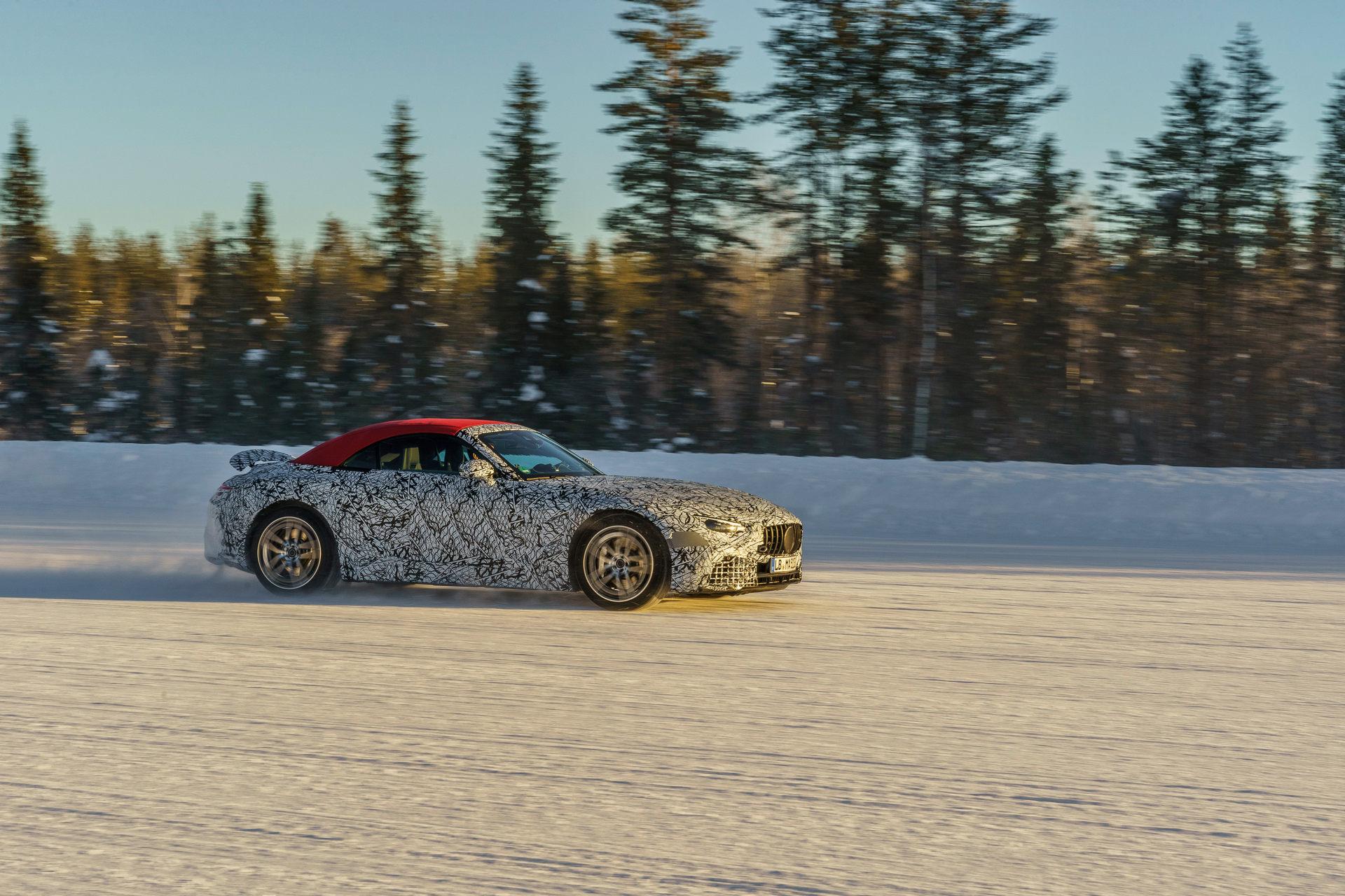 Es oficial: El nuevo Mercedes SL reemplazará al AMG GT Roadster
