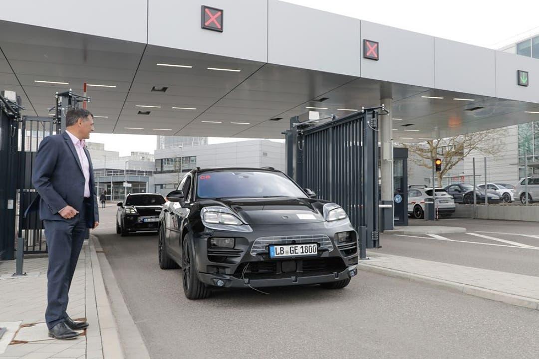 En 2023 veremos el Porsche Macan eléctrico: Así luce en los tets