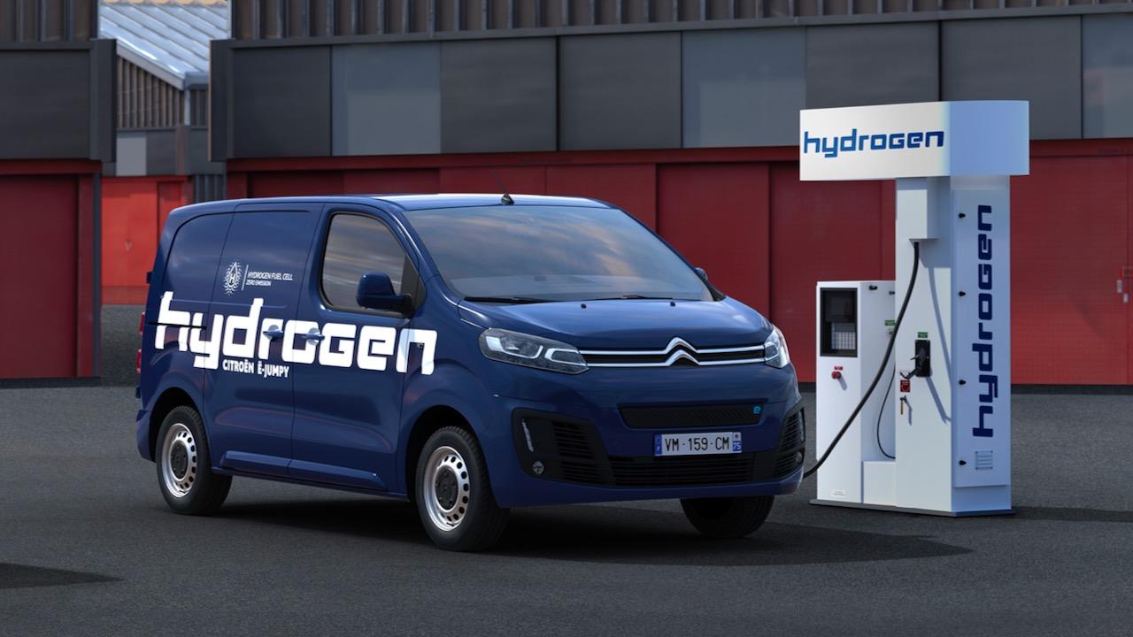 Citroën e-Jumpy Hydrogen: Complementando a la gama de vehículos eléctricos