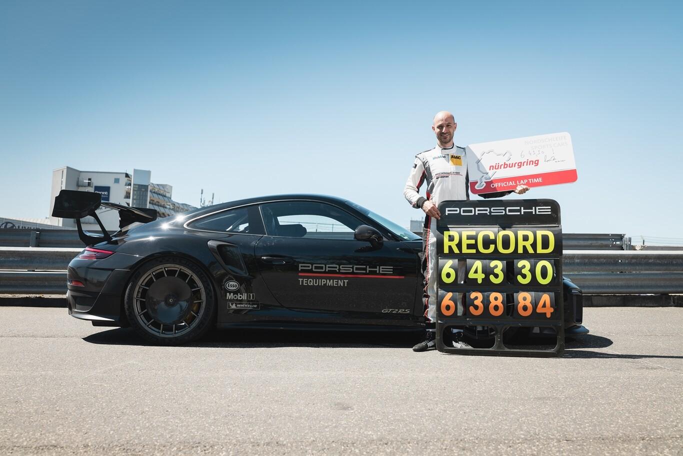 El Mercedes-AMG Black Series es destronado en Nürburgring por el Porsche 911 GT2 RS