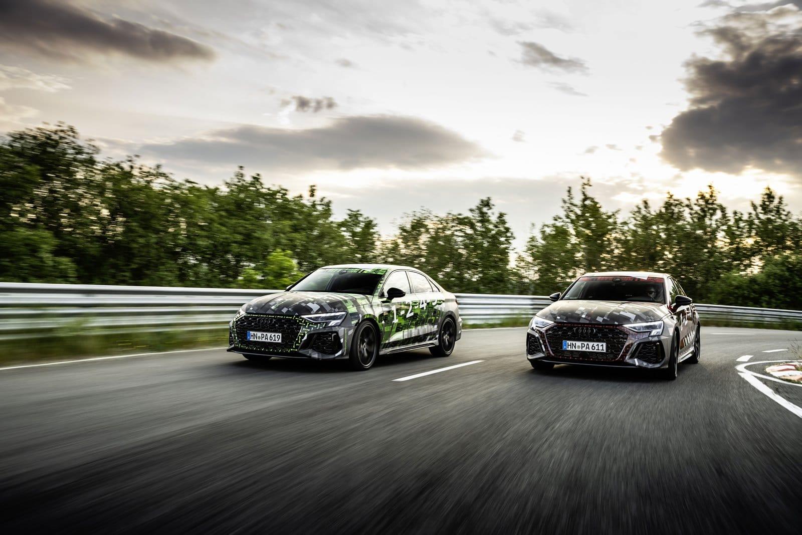El nuevo Audi RS3 llevará el Torque Splitter de serie: ¿Qué es?
