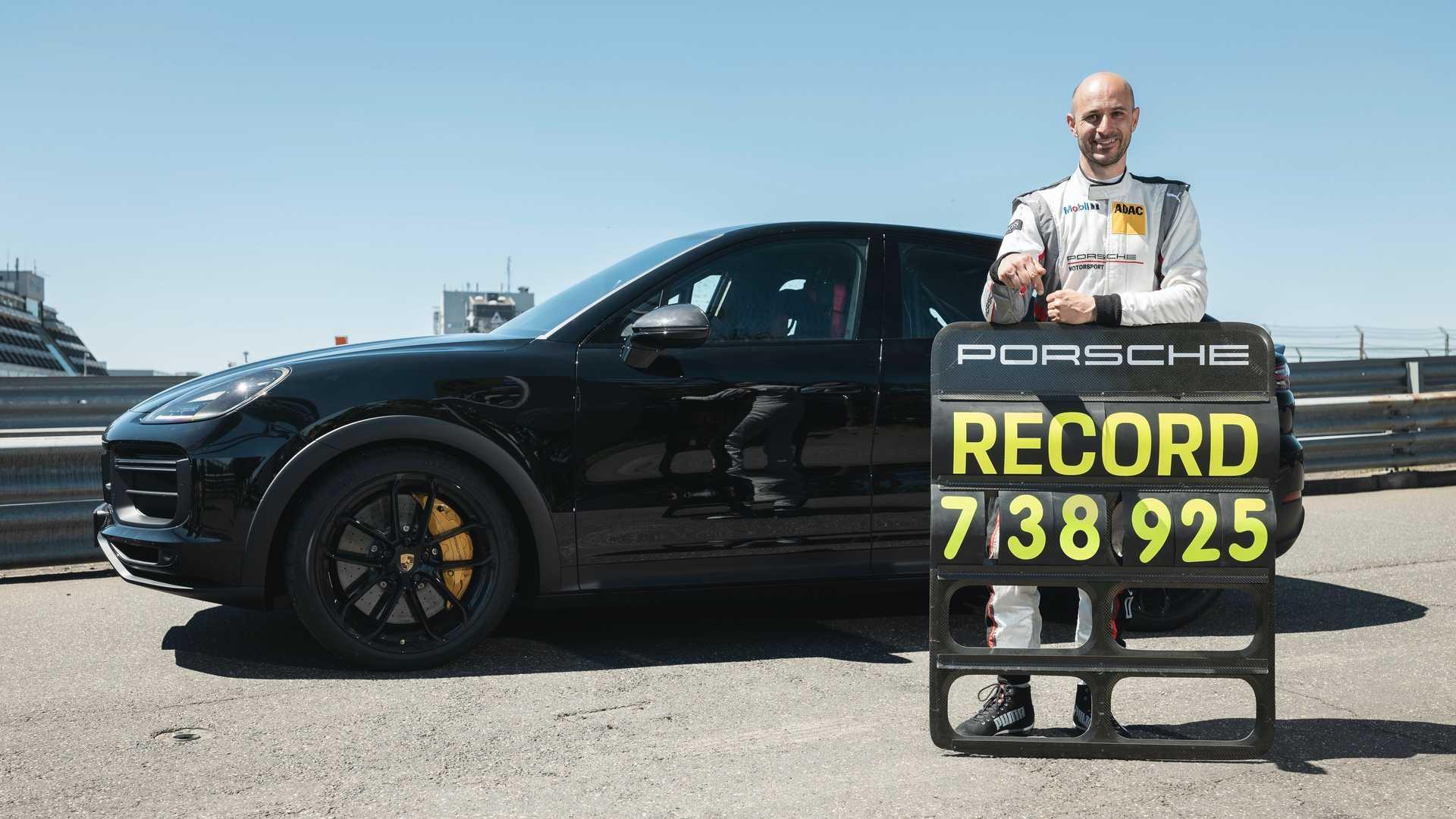 El Porsche Cayenne Coupé bate un récord en Nürburgring