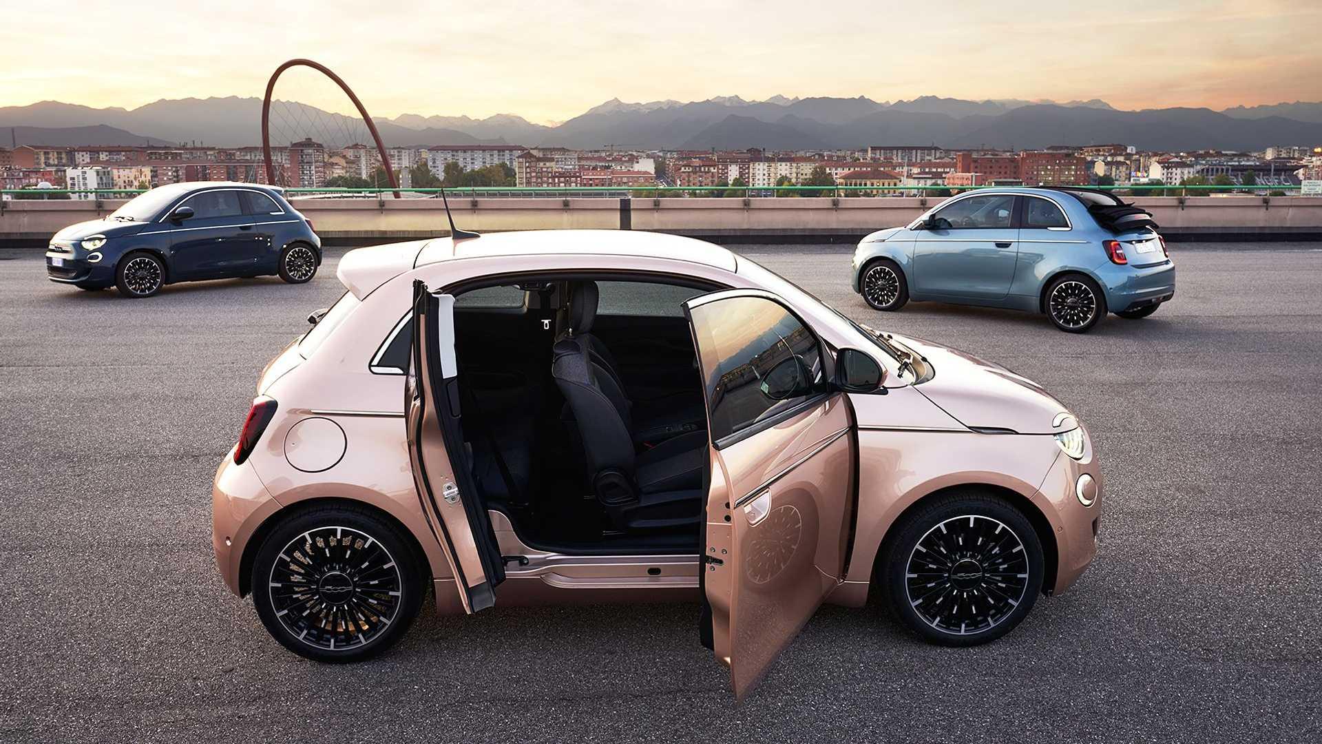 La gama de FIAT será 100% eléctrica en el año 2030