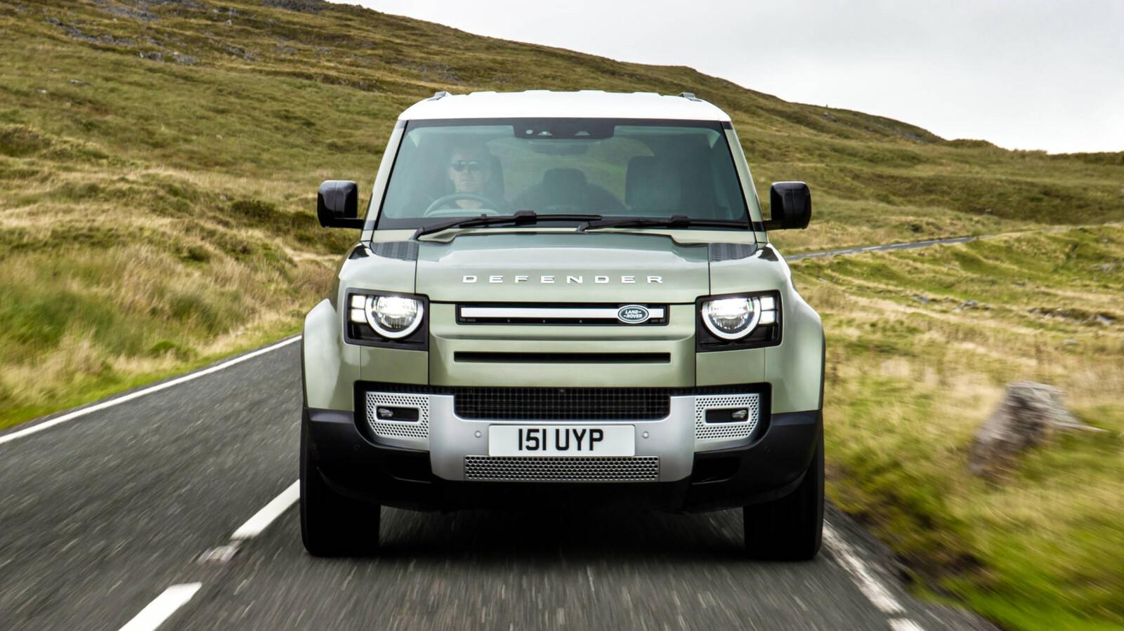 Land Rover trabaja en un prototipo de Defender con pila de hidrógeno