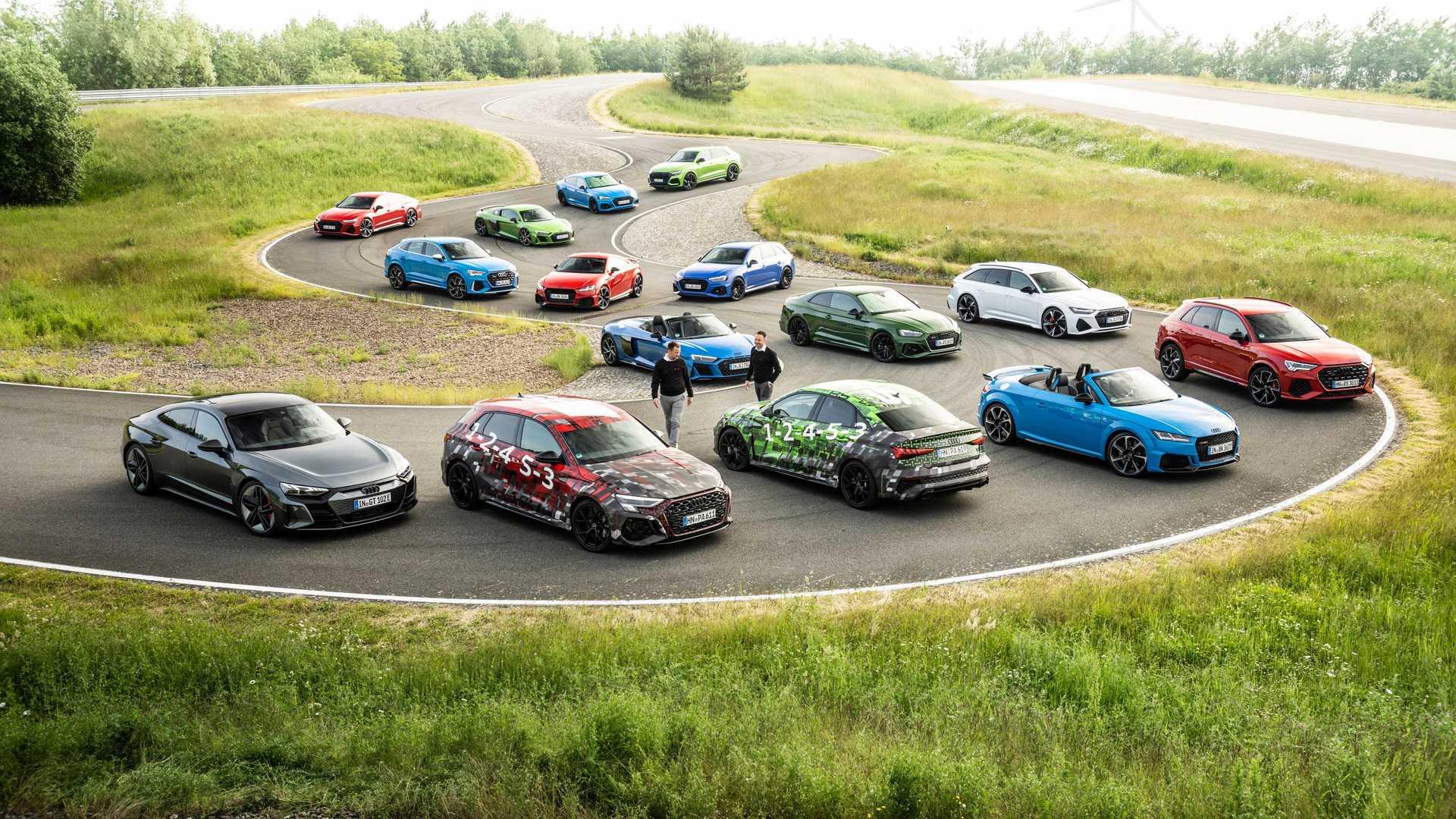 Primer teaser de los Audi RS3 Sportback y RS3 Sedán: My cercanos a su presentación
