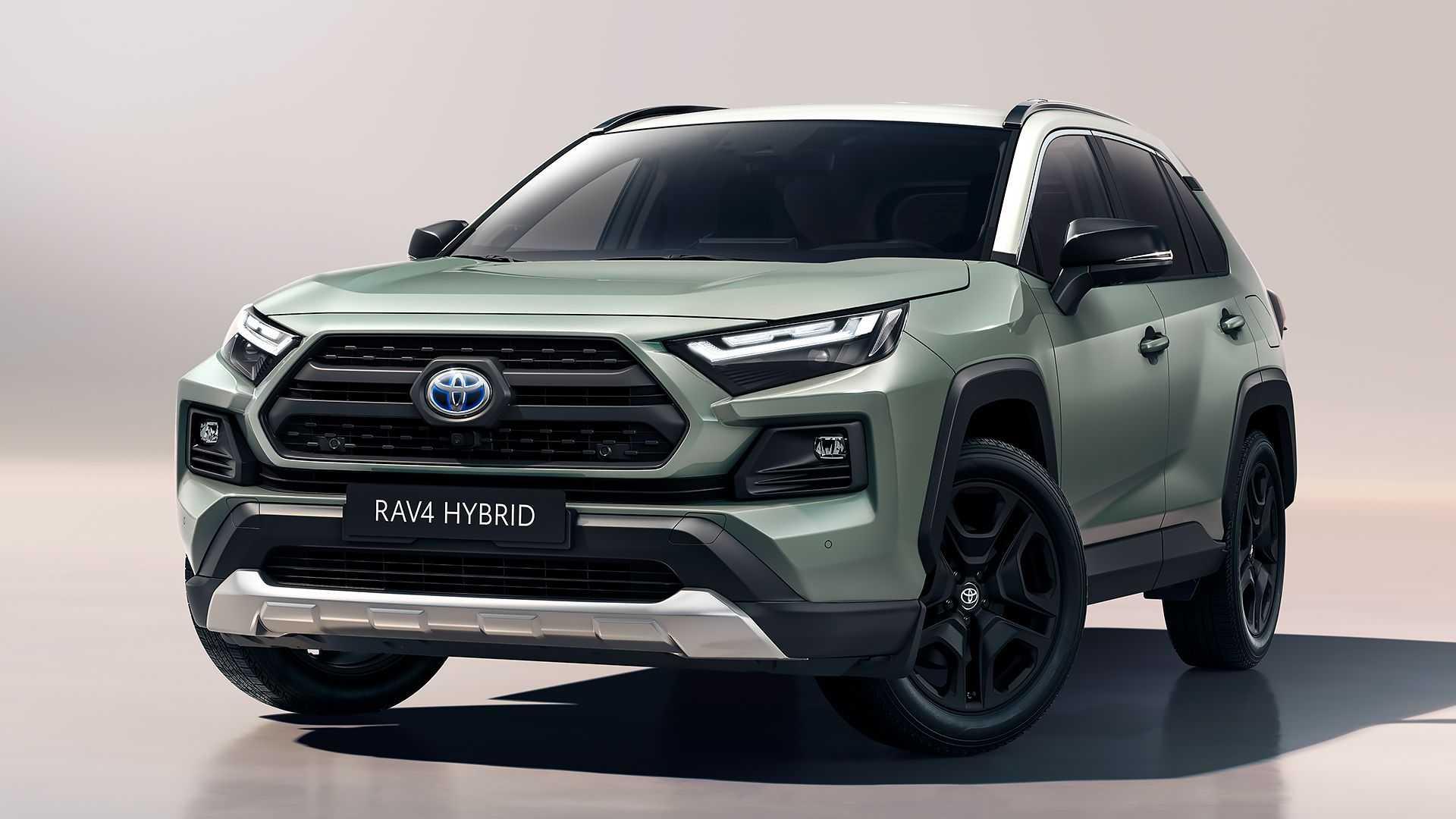 Toyota RAV4 Hybrid Adventure: Un aspecto más campero