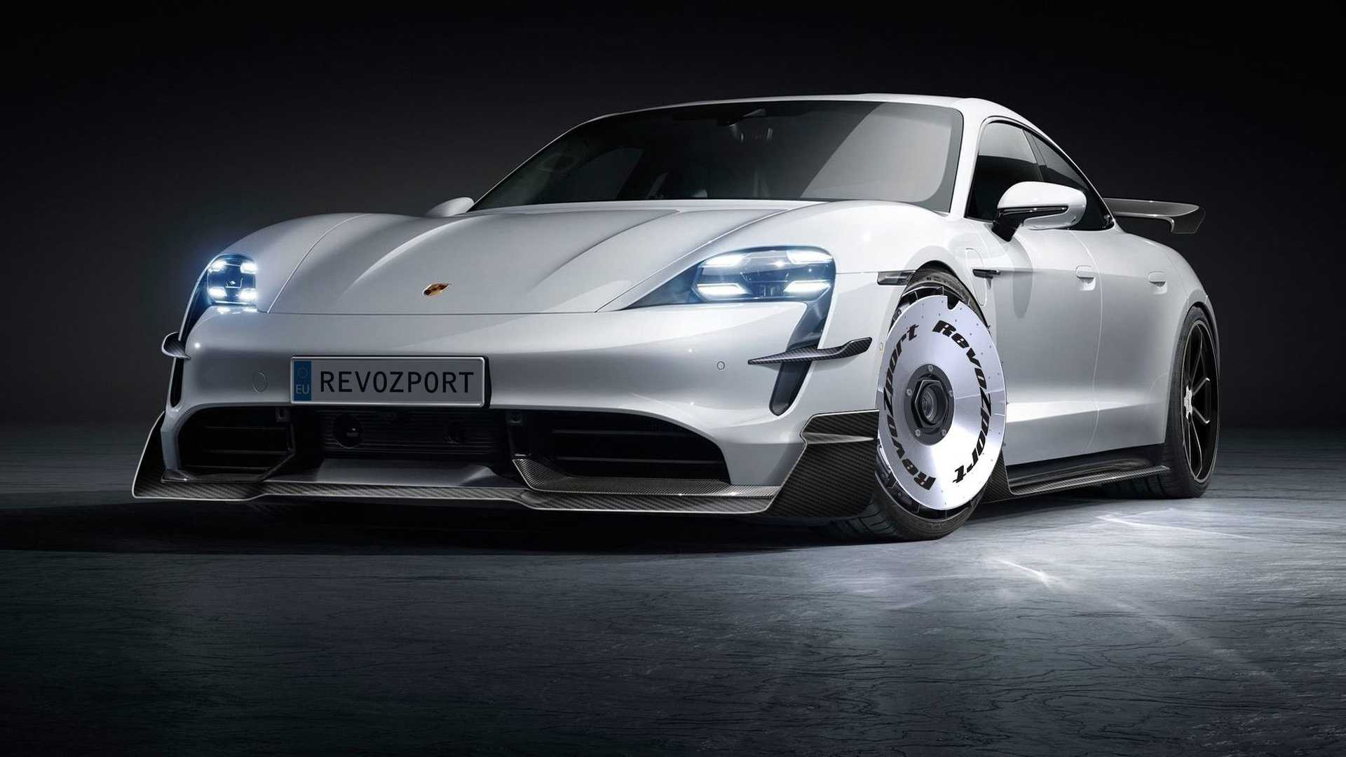 Vuelve tu Porsche Taycan más agresivo con los kits de carrocería de RevoZport