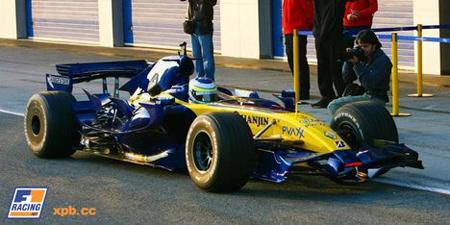 'Shakedown' del Renault R27